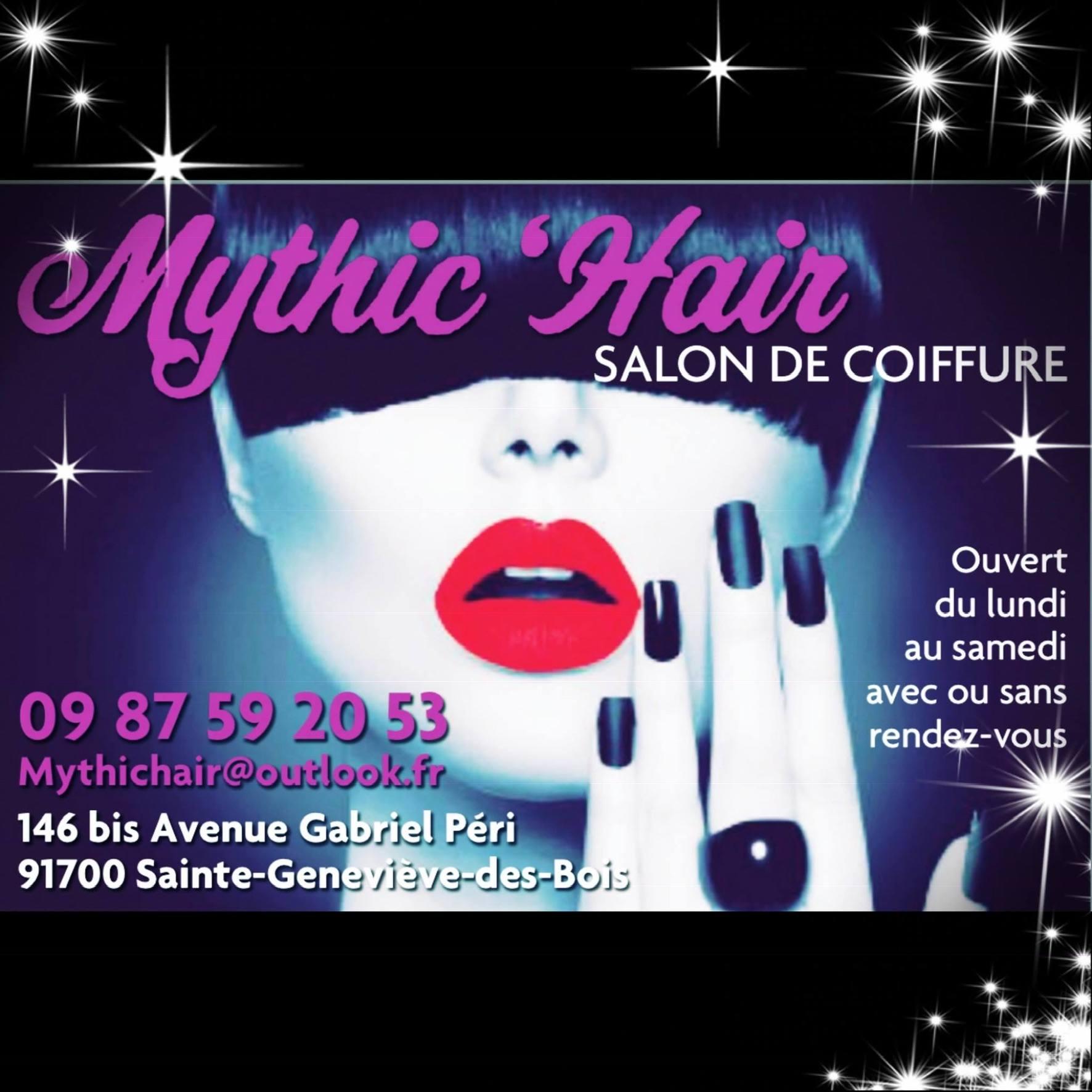Mythic'Hair - Sainte-Geneviève-des-Bois