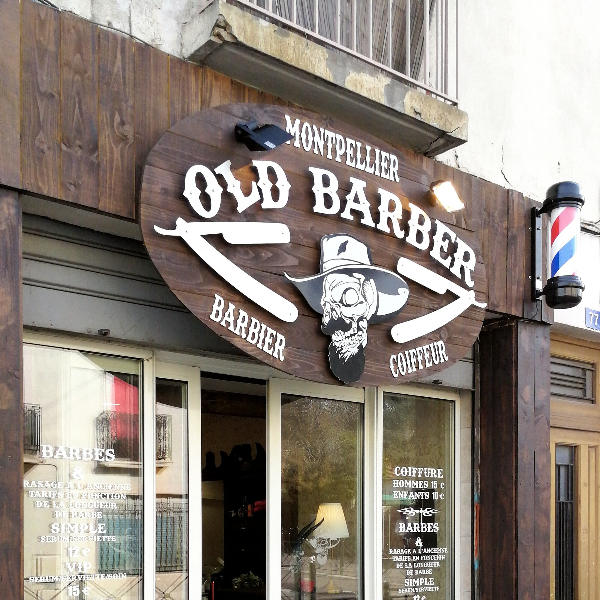 Old Barber - Figuerolles